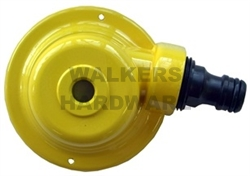 SPRINKLER DOME WITH ROUND HOLE