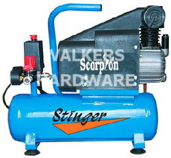 AIR COMPRESSOR 1.5HP 6L DIRECT DRIVE