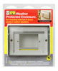ENCLOSURE WEATHER PROOF ELEC STD WHT