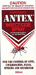 INSECTICIDE ANTEX SPRAY 200ML