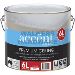 ACCENT FLAT WALL & CEILING 6L