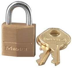 PADLOCK MASTER BRASS 20MM