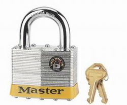 PADLOCK MASTER LAM ALLOY 65MM