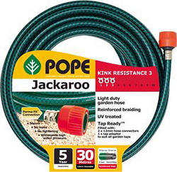 HOSE GARDEN JACKAROO 30M FITTED POPE