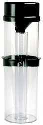 RAIN GAUGE DOUBLE CYLINDER 250MM NETA