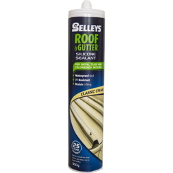 ROOF & GUTTER SILICONE CLASSIC CREAM 300G