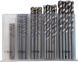 BIT DRILL SET MET IN CASE 50PCE