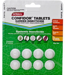 INSECTICIDE CONFIDOR TABLETS 20G