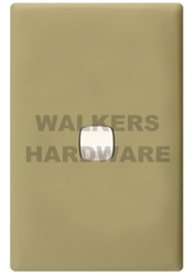 SWITCH COVER PLATE 1 GANG OLIVE - LINEA