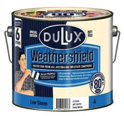 DULUX W/S LOW SHEEN VIVID WHITE 6L