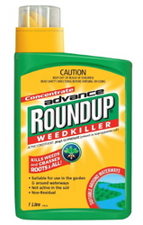 HERBICIDE ROUNDUP ADVANCE CONC 1LT