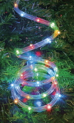 LIGHT ROPE 10M LED (COLOUR) LOW VOLTAGE
