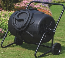 COMPOST BIN TUMBLER 190L WITH WHEELS