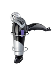 HOLDER HAIR DRYER CHROME WIRE