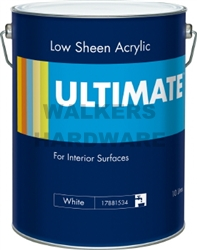 ULTIMATE INTERIOR LOW SHEEN WHITE 10L