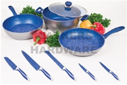 COOKWARE SET 3 PAN 28CM B/KNIVES DANOZ