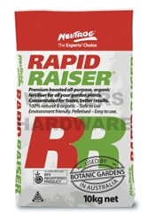 FERTILIZER 10KG RAPID RAISER