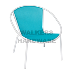 CHAIR STEEL SLING PAPASON TEAL