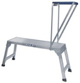 LADDER WORK PLATFORM INDUSTRIAL 150KG & TRAY