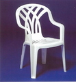 CHAIR RESIN MID BACK WHITE