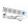 POWERBOARD C/SAFE 4 OUTLET WITH SURGE PROTECTOR