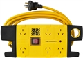 POWERBOARD 6 OUTLET W/SURGE PLUG BOSS
