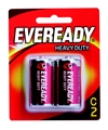 BATTERY - EVEREADY H/DUTYRED C PK2 1035BP2