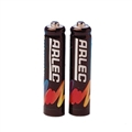BATTERY RECHARGEABLE BLK 2XAAA