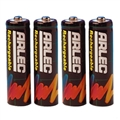 BATTERY AA 4 PK RECHARG. BLACK