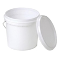 PAIL PLASTIC 10L WITH LID