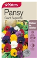 SEED FLOWER PANSY GIANT SUPREME