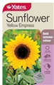 SEED SUNFLOWER EMPRESS   YELLOW