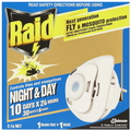 INSECTICIDE NIGHT & DAY MOSQUITO FLY RAID