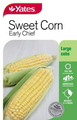 SEED SWEET CORN EARLY CHIEF NEW