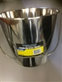 BUCKET 16L STAINLESS STEEL