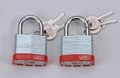 PADLOCK LAM/STEEL 30MM PK2