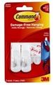 HOOK COMMAND ADHESIVE SMALL