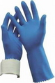 GLOVE RUBBER FL/LINED S10