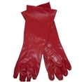 GLOVES CHEMICAL PVC COTTON LINED 27CM