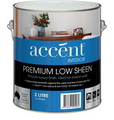 ACCENT LOW SHEEN INTERIOR WHITE 2L