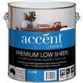 ACCENT LOW SHEEN INTERIOR WHITE 4L