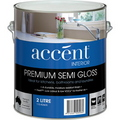 ACCENT SEMI GLOSS INTERIOR WHITE 2L