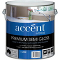 ACCENT SEMI GLOSS INTERIOR WHITE 4L
