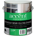 ACCENT SEMI GLOSS ENAMEL WHITE 2L