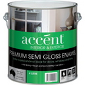 ACCENT S/GLOSS INT & EXT WHITE 4L