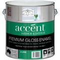 ACCENT GLOSS ENAMEL INT & EXT WHITE 4L
