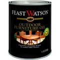 FEAST WATSON OUTDOOR FURNITURE OIL CLEAR 1L