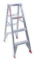 LADDER 4 STEP D/SIDED 1.2M 120KG