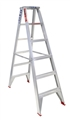 LADDER 6 STEP D/SIDED 1.8M 120KG