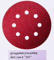 DISC SANDING ORB 125MM/8H RED 240G PK5